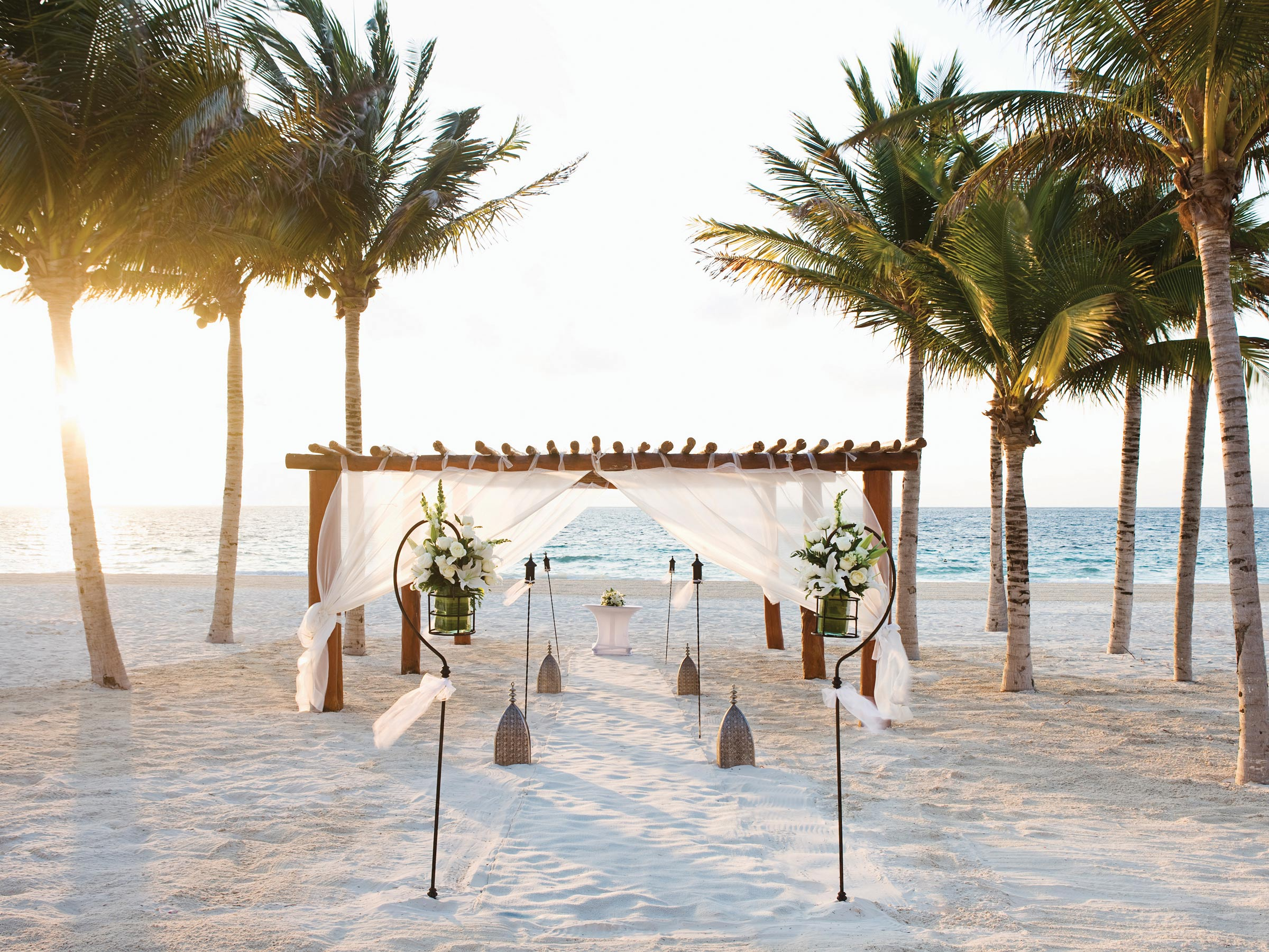 destination wedding at our blissful Playa Mujeres resort